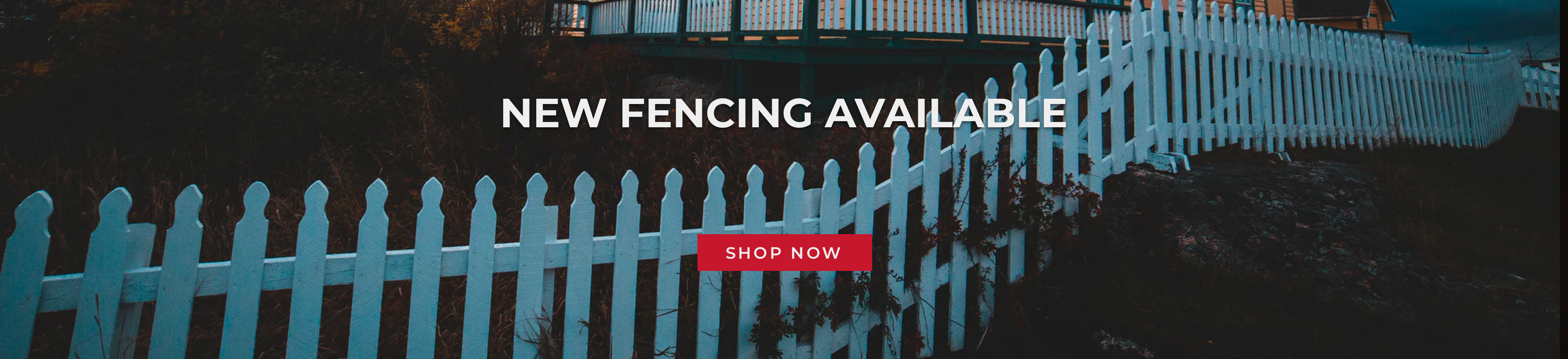 New Fencing Available