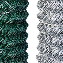 Galvanised Chainlink 25m roll 1.8m x 50