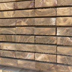 Spruce Rail 3.60m x 125mm x 50mm