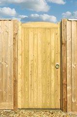 Wellow Wooden Gate TSW